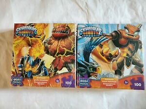 2 New Skylanders Giants Foil 100 Pieces Jigsaw Puzzle Hot + Swarm USA SHIPS FREE
