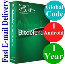 Bitdefender Mobilel Security 1 ANDROID / 1 Year (Unique Global Activation Code)