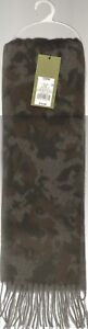 NEW! Camouflage Scarf - Goodfellow & Co - Olive Green 5' - 6'