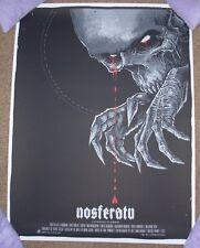 NOSFERATU movie poster art print Godmachine grey matter art