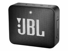 JBL Go 2 Waterproof Portable Wireless Bluetooth Speaker Black