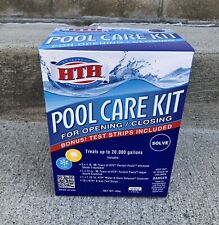 Hth 91021 Pool Care Kit Opening and Closing Maintenance Bundle *New*