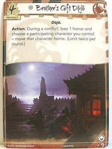 Legend of the Five Rings LCG - 1x #002 Brother's Gift Dojo - Underhand of the Em