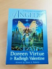 Angel Tarot Cards 78-Card Deck with Guidebook by Doreen Virtue & Radleigh Valent