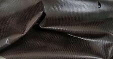 Dark Brown Herringbone Veg Cow Leather Hide 13sf Crafts Binding Handbag Wallet