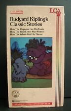 NEW/SEALED *RARE* RUDYARD KIPLING'S CLASSIC STORIES VHS CARTOON ELEPHANT WHALE