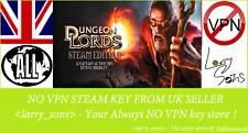 Clave de Vapor Edición De Vapor Dungeon señores no VPN región libre de Reino Unido Vendedor