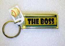 SOLAR POWERED LCD FLASHING THE BOSS YANKEE STADIUM NY KEYCHAIN STOCKING STUFFER