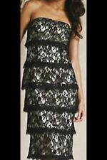 Teatro Black Lace Dress Size 8 RRP 75 £ New
