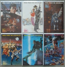 NICK FURY vs S.H.I.E.L.D..1-6 SET..HARRAS/NEARY.MARVEL 1988 1ST PRINT.VFN.SHIELD