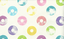 Multicolore dolly mélange cercles papier peint
