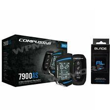 Compustar CS7900-AS 2-Way 3000-FT Range Remote Start Security + BLADE-AL Bypass
