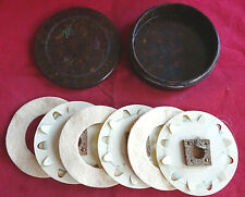 A VERY NICE VINTAGE HARDY NERODA CAST FLY CASE WITH ORIGINAL INSERTS/WINDERS