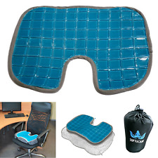 Coccyx Orthopedic Gel Pad Seat Cushion Comfort Back Pain Relief Foam Chair Suppo