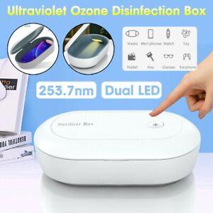 Boîte de Désinfection Lumière UV Nettoie Téléphone Masque Bijoux Clés Avec Câble