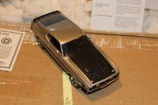 B85 Danbury Mint 1971 Ford Mustang Boss 351 1:24 Pewter, Title