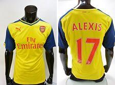 c873e3b60fa33 Artilleros 2014-2015 Puma Arsenal FC Away Camiseta Alexis Sanchez 17 Talla  Xl (adultos)