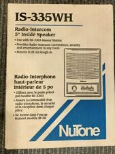Nutone IS-335WH