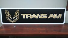 "Trans Am Pontiac Logo Aluminum Sign  6"" x 24"""