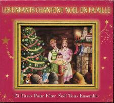 LES ENFANTS CHANTENT NOEL EN FAMILLE - CD CHANSON DE NOEL - NEUF SOUS CELLO