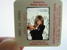 More details for original press photo slide negative - tina turner - 1985 - i