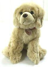"FAO Schwarz Toys R Us Golden Retriever Plush Dog Stuffed Animal Geoffrey 14"""