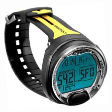 Cressi Dive Computer for Scuba Wrist Watch Nitrox Diving Leonardo Yellow 4UK