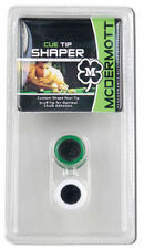 McDermott Cue Tip Shaper 2 Pack - Pool Stick Accessories - Tip Tool - Scuffer