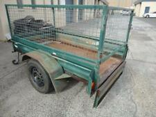 Box Trailer Carousel 7' x 4' with cage - unregistered
