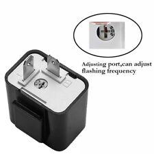 2-Pin 12V Electronic Turn Signal LED Flasher Blinker Relay Car Motorcycle Light