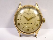 Vintage DO 19 Benrus 3 Star 17J Self Winding / Automatic Men's Wrist Watch Runs