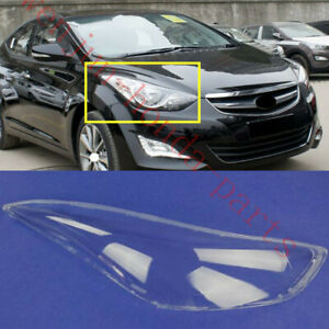 Replace Right Side Clear headlight cover PC+Glue For Hyundai Elantra 2011-2016AA