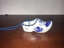 Vintage Delft Porcelain Dutch Shoe -See Makers Mark