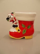 Walt Disney Mickey Mouse Christmas Santa Boot