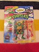 1991 RAPHAEL Teenage Mutant Ninja Turtles Playmates Unpunched TMNT TALLKIN