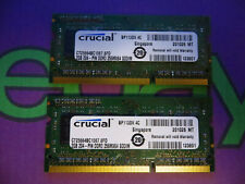 Apple Macbook Pro Ram Memory 4GB (2 x 2GB) DDR3 PC3-8500s 1067Mhz 8500 Crucial