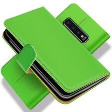 Téléphone Portable Housse pour samsung Galaxy S10 Étui à Abattant Livre PU Cuir