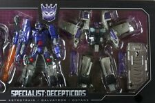 TAKARA TOMY TRANSFORMERS SPECIALISTS DECEPTICONS GALVATRON & OCTANE LOOSE NEW