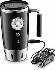 Heated Travel Mug - Emerson Stainless Steel 12 Volts (black)