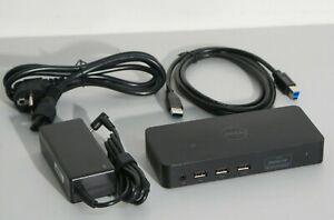 Dell D3100 USB Station Accueil Universelle Dock Ordinateur Portable 4K HDMI DP