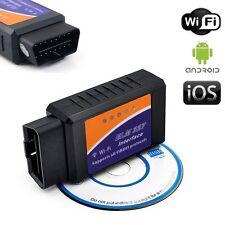 ELM327 Wifi OBD2 Automóvil Diagnóstico Escáner código Lector para Móvil Android y IOS