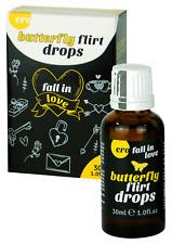 gocce afrodisiaco per donna stimolazione erotica sessuale hot butterfly 30 ml