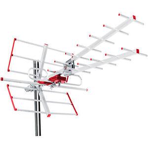 Antenne TV DVB-T combo UHF directionnelle d'extérieure MCTV-855 Maclean