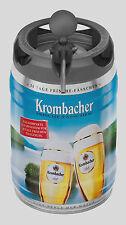 4 Krombacher Frische Fass a 5 Liter Partyfass 30 Tage Frische Fässchen mit Hahn