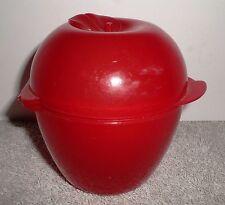 Tupperware Fruit Keeper Red Forget Me Not Apple Keeper Storage
