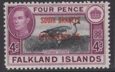 FALKLAND IS.DEP. SGD5 1944 4d BLACK & PURPLE MNH