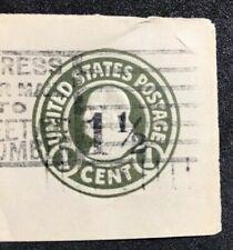 us cut square stamps Scott U495a Die 2
