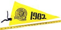 "VINTAGE CHRIS AKKERMAN ELEMENTARY SCHOOL CALGARY 1982 FELT PENNANT 17.5"" {CM199}"