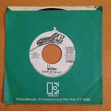 "Lindis Farne-Court In The Act-7"" 45-Elektra-EK 45835-Mono-Promo-Near Mint-Vinyl"