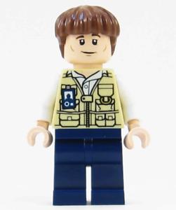 Lego Vet 75920 Bowl Haircut Raptor Escape Jurassic World Minifigure